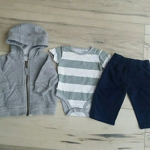 Carter's Baby Boy Clothing Set 3-6 Months